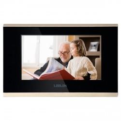 "Monitor IP 7"" LCD Touchscreen Portero Visor SPOE Alarmas"
