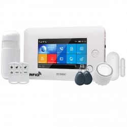 Alarma Inalambrica WIFI Zudsec GSM App Celular 99+4 zonas