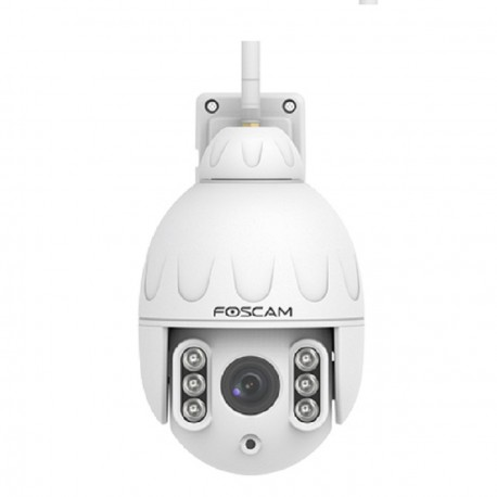 Domo PTZ IP WIFI Exterior 1080P 4x Zoom Detec Humana Foscam