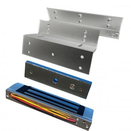 Cerradura electromagnetica con soporte ZL 180kg electronica