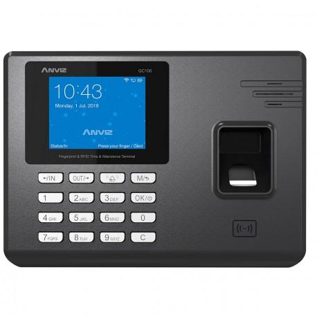 Control Horario Anviz GC100 presentismo Biometrico Huella