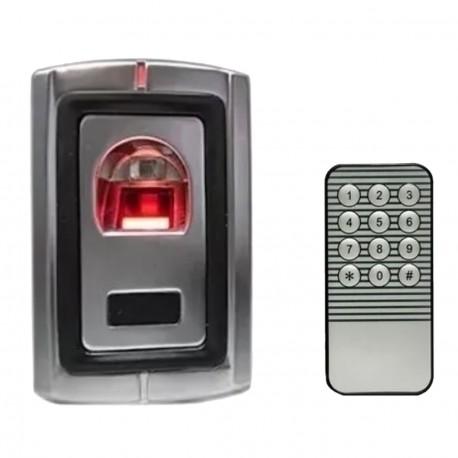 Control Acceso Huella tarjeta Exterior Abrepuerta Autonomo