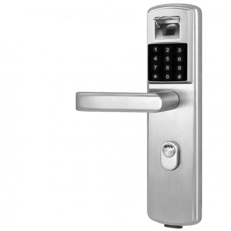Cerradura Biometrica Huella Teclado Pilas Oficina Hogar Der